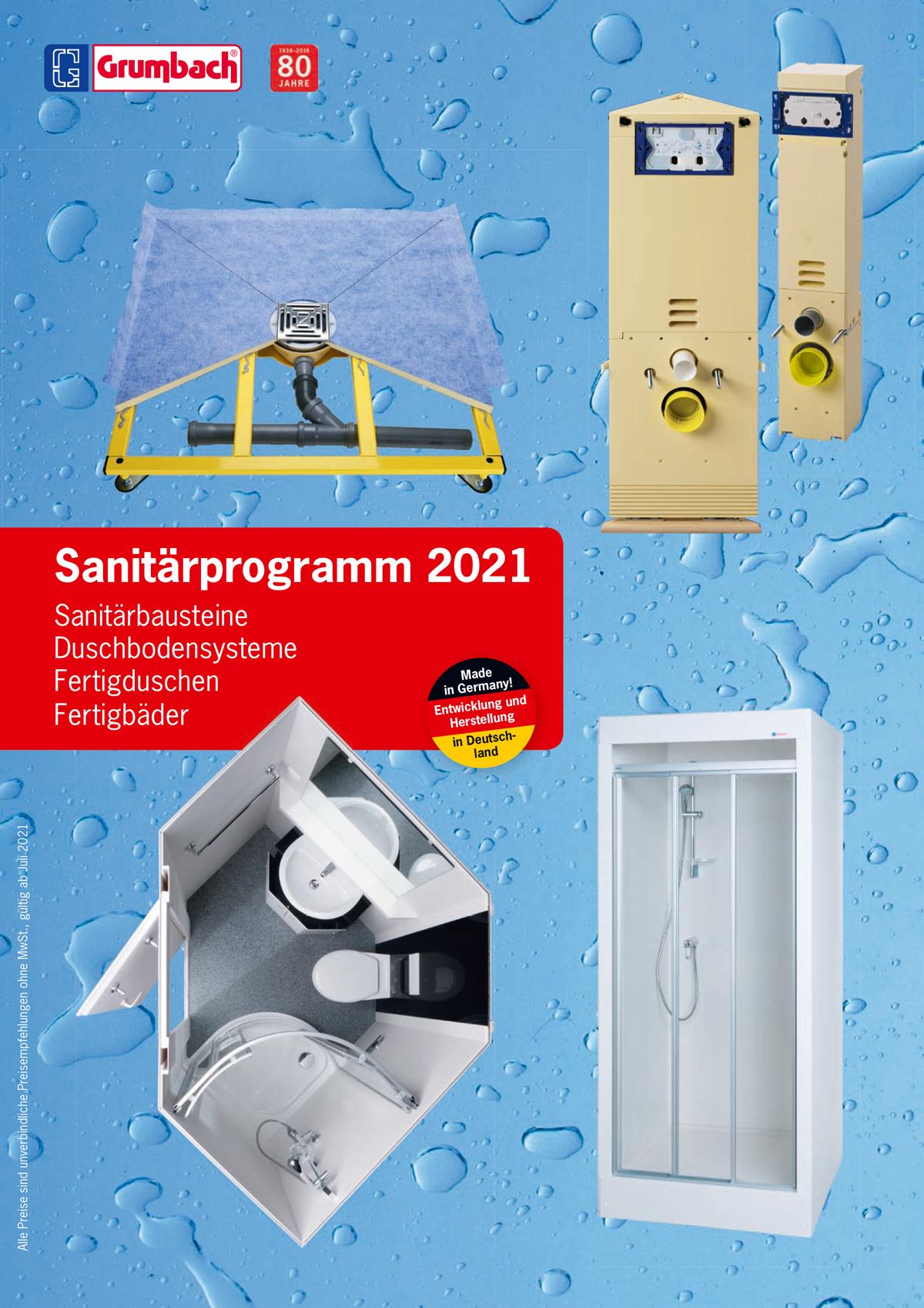 Grumbach Flachdachprogramm 2020
